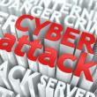 Stock Photo: Cyber Attack Concept.