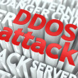 DDOS Attack Concept. - Stock Photo