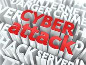 Cyber Attack Concept. — Stock Photo