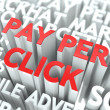 Pay Per Click (PPC) Concept. — Stock Photo #23561991