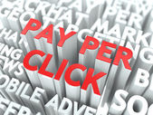 Pay Per Click (PPC) Concept. — Stock Photo