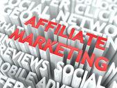 Affiliate Marketing Concept. — Stock Photo