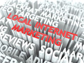 Local Internet Marketing Concept. — Stock Photo
