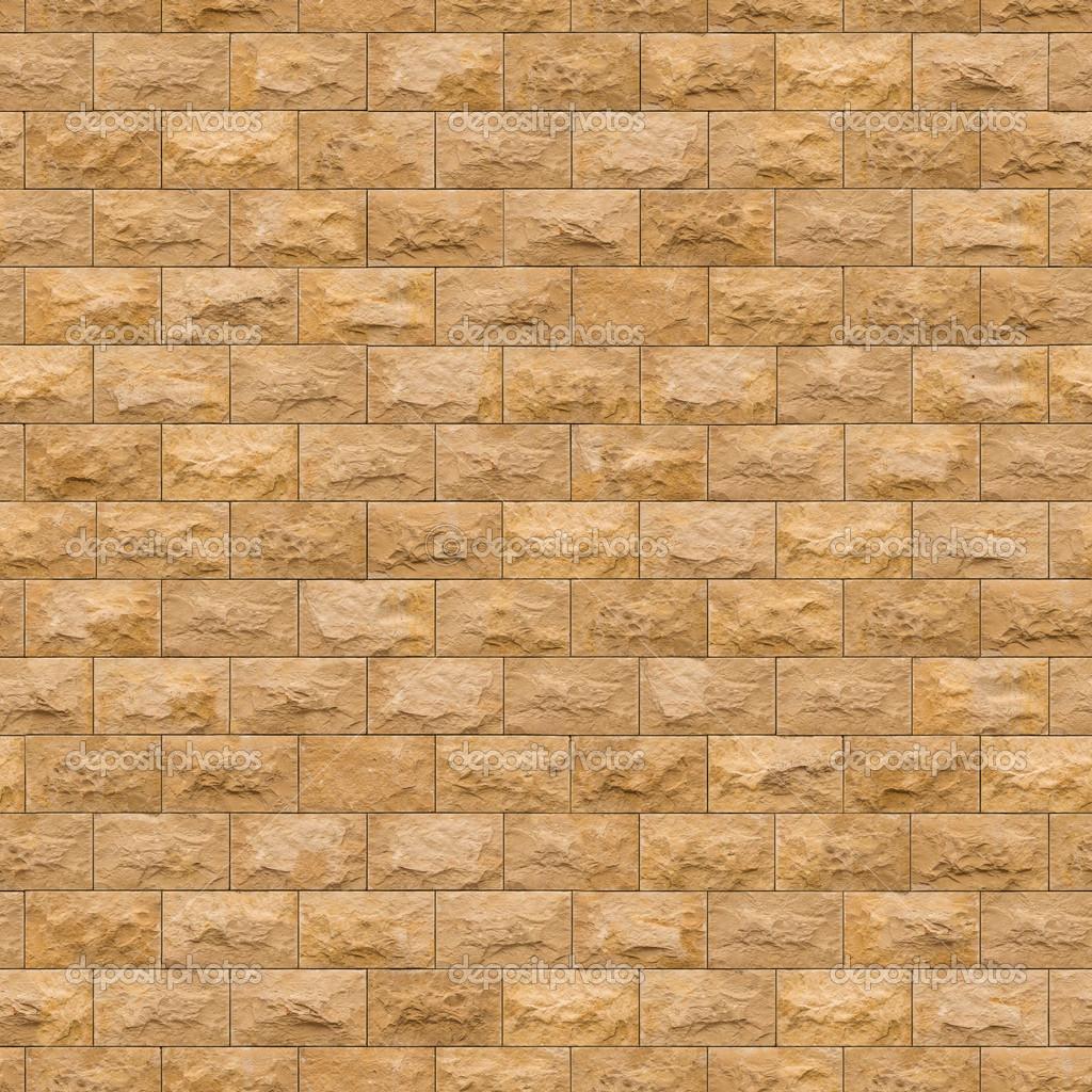 Photo image bricks brick masonry bricks wall background texture - Seamless Texture Of Yellow Sandstone Brick Wall Stock