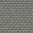 Seamless Texture of Wall from Granite Blocks. - Stock Photo