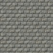 Seamless Texture of Wall from Granite Blocks. — Stock Photo