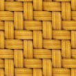 Seamless Texture of Wooden Rattan. — Stock Photo
