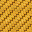 Seamless Texture of Woven Rattan. — Stock Photo