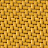 Seamless Texture of Woven Rattan. — Stock Photo