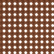 Stock Photo: Seamless Texture of Wooden Brown Rattan.