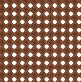Seamless Texture of Wooden Brown Rattan. — Stock Photo