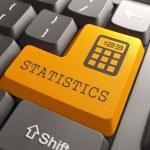 Постер, плакат: Keyboard with Statistics Button