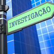 Stock Photo: Investigation Concept. (Portuguese)