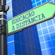 Stock Photo: Education Concept. (Portuguese)