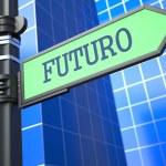 Future Concept. (Portuguese) — Stock Photo