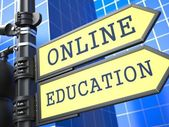 Business Concept. Online Education Sign. — Stock Photo