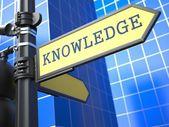 Concepto del negocio. signo de conocimiento. — Foto de Stock