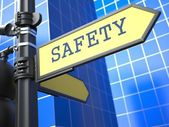 Business Concept. Safety Sign. — Stock Photo