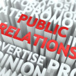 Public Relations (PR) Concept. — Stock Photo