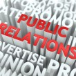 Stock Photo: Public Relations (PR) Concept.