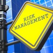 Business Concept. Risk Management Waymark. — Stock Photo #24870129