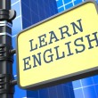 Learning Language - English Concept. — Stock Photo