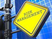 Business Concept. Risk Management Waymark. — Stock Photo