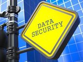 Secure Concept. Data Security Waymark. — Stock Photo