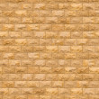 Seamless Texture of Yellow Brick Wall. — Stockfoto