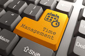 "Keyboard with ""Time Management"" Button. — Stock Photo"