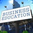 Foto Stock: Business Education Concept.