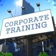 Corporate Training Concept. — Stock Photo