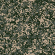 Stock Photo: Military Fabric Pattern. Seamless Texture.