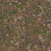 Camouflage in Green and Beige. Seamless Texture. — Stock Photo