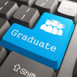 """Keyboard with """"Graduate"""" Button. — Stock Photo #25511375"""