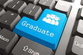 "Keyboard with ""Graduate"" Button. — Stock Photo"