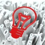 Business Concept on Alphabet Background. — Stock Photo