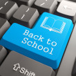 "Keyboard with ""Back to School"" Button. — Stock Photo"
