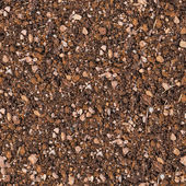 Soil with Small Stones. Seamless Texture. — Stock Photo