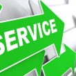 Service. Business Concept. — Stock Photo