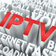 Stock Photo: IPTV. Wordcloud Concept.