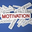 Foto Stock: Motivation Concept.