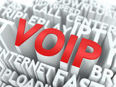 VOIP. The Wordcloud Concept. — Stock Photo