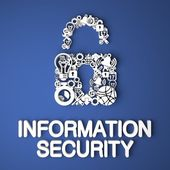 Information Security Concept. — Stock Photo