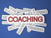 Coaching Concept. — Stock Photo
