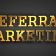 Referral Marketing. Business Concept. — Stock Photo