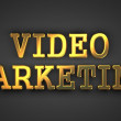 Video Marketing. Business Concept. — Stock Photo