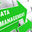 Data Management. Internet Concept. — Stock Photo