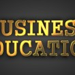 Business Education. Education Concept. — Stock Photo