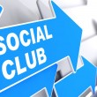 Social Club. — Stock Photo